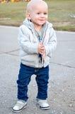 Criança de sorriso bonito foto de stock