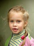 A criança desdentado Fotografia de Stock Royalty Free