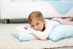 Criança despreocupada Fotografia de Stock Royalty Free