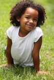 Criança do Afro Fotos de Stock Royalty Free
