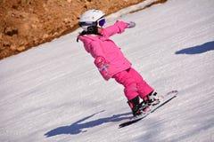 Criança do esqui Imagem de Stock