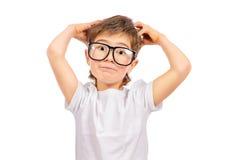 Criança do gênio imagens de stock