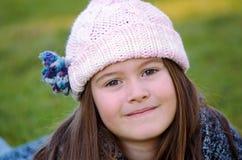 Criança do inverno Fotos de Stock Royalty Free
