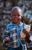 Criança do Kenyan Fotografia de Stock