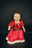 Criança do Natal Fotos de Stock