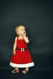 Criança do Natal Fotografia de Stock Royalty Free