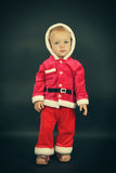 Criança do Natal Fotografia de Stock