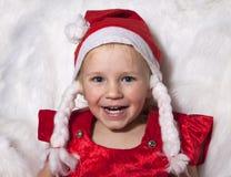 Criança do Natal feliz Imagens de Stock Royalty Free