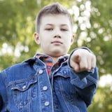 Criança 11 do outono Foto de Stock Royalty Free