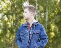 Criança 11 do outono Imagens de Stock