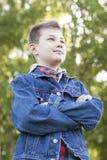 Criança 11 do outono Fotografia de Stock Royalty Free