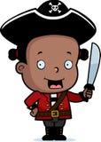 Criança do pirata ilustração do vetor