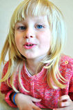 Criança do sorriso Fotografia de Stock