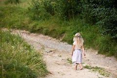 Criança do verão Imagens de Stock Royalty Free