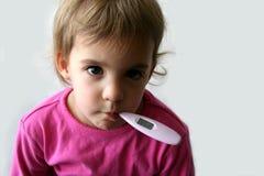 Criança doente 3 imagem de stock