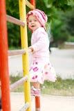 Criança em barras fotos de stock royalty free