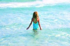 Criança em férias Fotografia de Stock Royalty Free