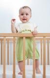 Criança encantador na ucha Fotografia de Stock
