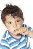 Criança encantadora Fotografia de Stock