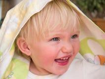Criança engraçada Fotografia de Stock Royalty Free
