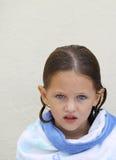 Criança envolvida em uma toalha Imagens de Stock