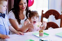 Criança Excited Imagem de Stock Royalty Free
