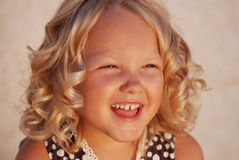 Criança feliz. Imagens de Stock