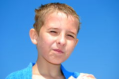 Criança feliz fotos de stock royalty free