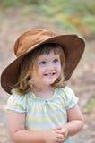Criança feliz adorável Fotografia de Stock Royalty Free