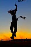 Criança feliz ao ar livre Foto de Stock