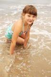 Criança feliz do verão Fotos de Stock Royalty Free