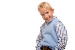 A criança feliz está sorrindo imagens de stock royalty free