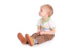 Criança feliz pequena foto de stock royalty free