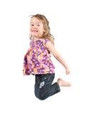 Criança feliz saudável foto de stock royalty free