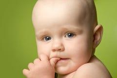 Criança fina fotografia de stock