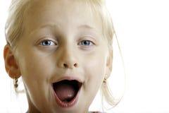Criança inocente bonito Fotos de Stock Royalty Free