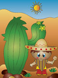 Criança mexicana Fotografia de Stock