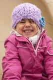 Criança muito feliz Imagens de Stock Royalty Free