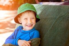 Criança na associação Imagens de Stock