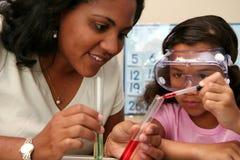 Criança na escola Imagem de Stock