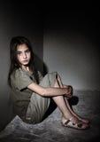 Criança negligenciada Imagens de Stock
