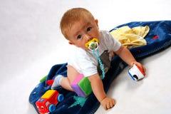 Criança no estúdio Foto de Stock