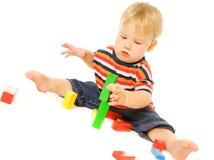 Criança nova bonita Imagem de Stock Royalty Free