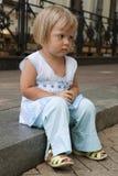 A criança ofendida Imagem de Stock Royalty Free