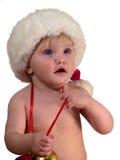 A criança olha com surpresa Imagens de Stock