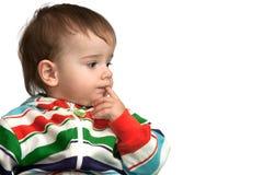 Criança pensativa Imagem de Stock Royalty Free