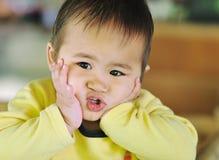 Criança pensativa Foto de Stock