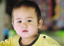 Criança pensativa. Imagem de Stock Royalty Free