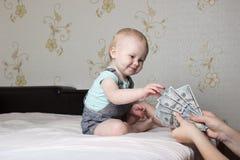 Criança pequena Fotos de Stock