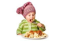 Criança pequena bonito imagens de stock royalty free